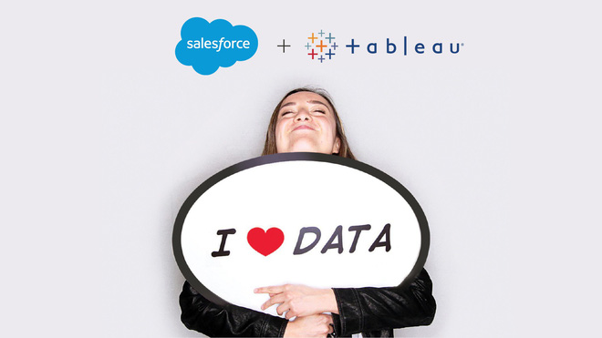 Salesforce thâu tóm công ty trực quan hóa dữ liệu Tableau trong thương vụ trị giá 15,7 tỷ USD - Ảnh 1.
