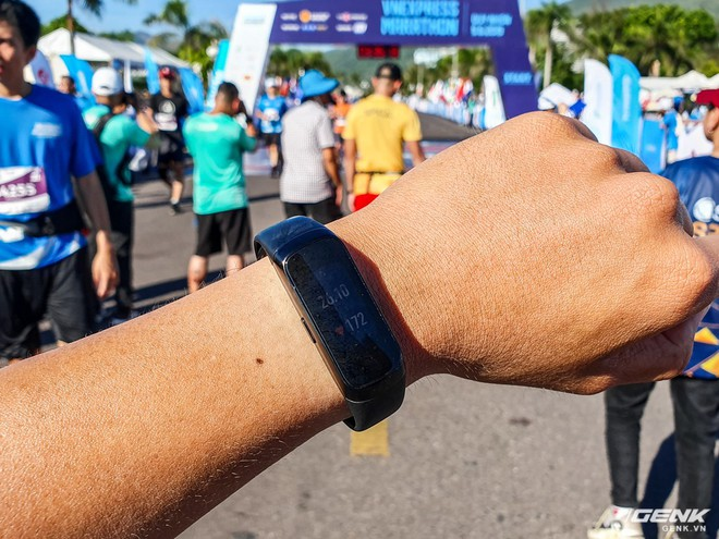 Trải nghiệm và đánh giá Galaxy Fit sau 21km chạy marathon - Ảnh 9.