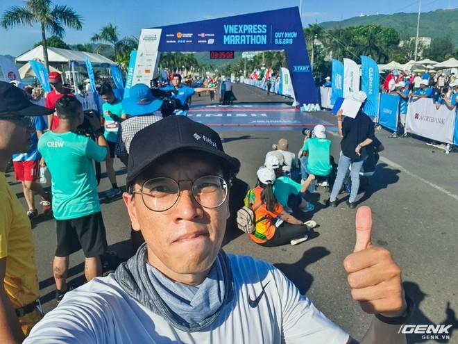 Trải nghiệm và đánh giá Galaxy Fit sau 21km chạy marathon - Ảnh 11.