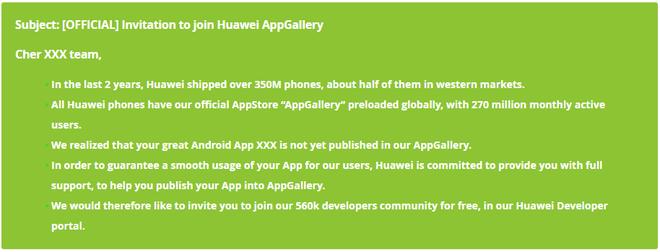 Huawei đang thuyết phục các nhà phát triển đưa ứng dụng lên cửa hàng AppGallery của họ - Ảnh 1.