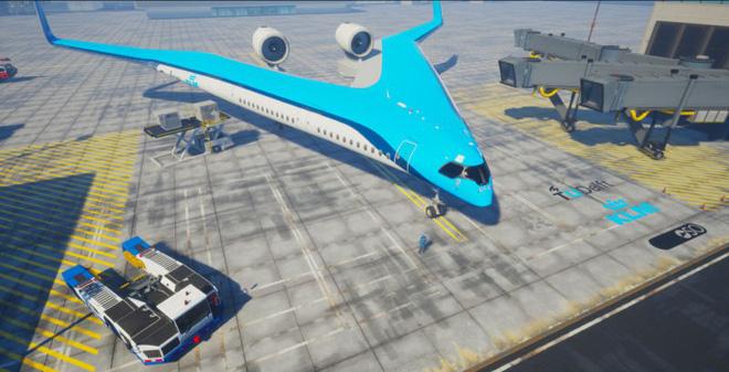 Máy bay hình chữ V đỡ tốn nhiên liệu hơn hẳn, nhưng sợ không ai dám đi thử vì lý do này - Ảnh 1.