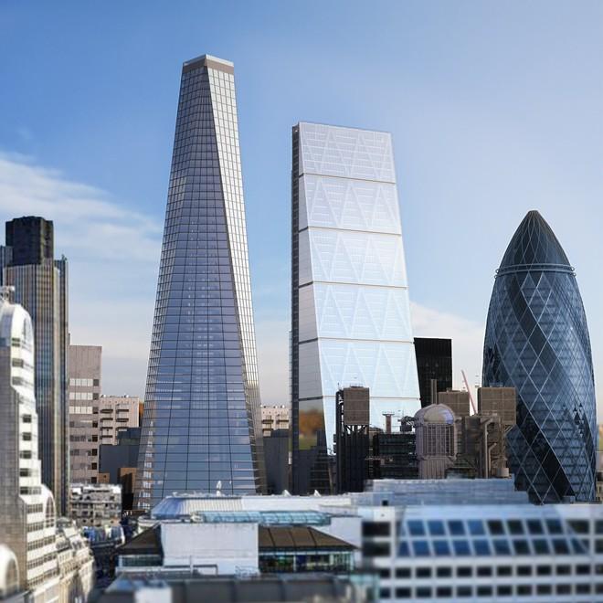 Ngắm nhìn bể bơi vô cực trên nóc tòa nhà ở London - Ảnh 3.