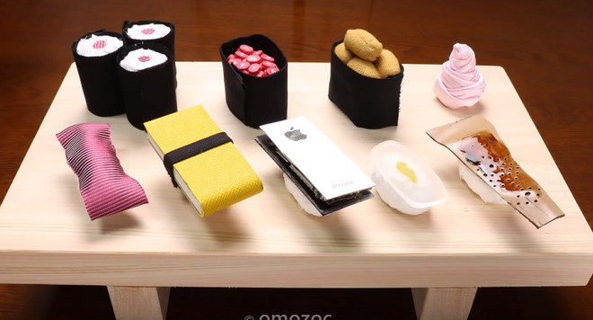 Giải trí nhẹ nhàng với video stop-motion dạy làm sushi từ... iPhone, áo vest - Ảnh 6.