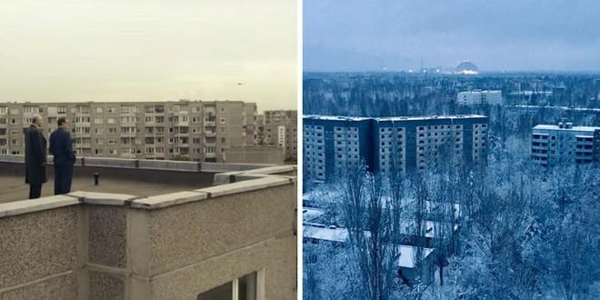 Muốn biết Chernobyl của HBO có sát với thực tế hay không, cứ xem loạt ảnh so sánh này là rõ - Ảnh 1.