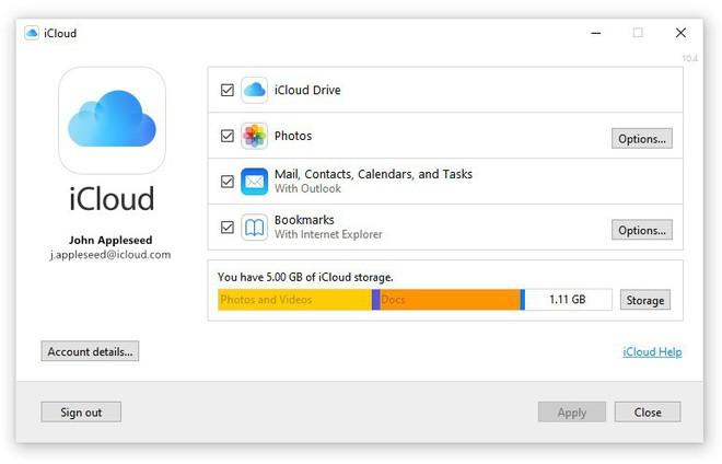 iCloud trên Windows từng khiến người dùng phát cáu, nhưng bản cập nhật mới đã khắc phục điều đó - Ảnh 2.