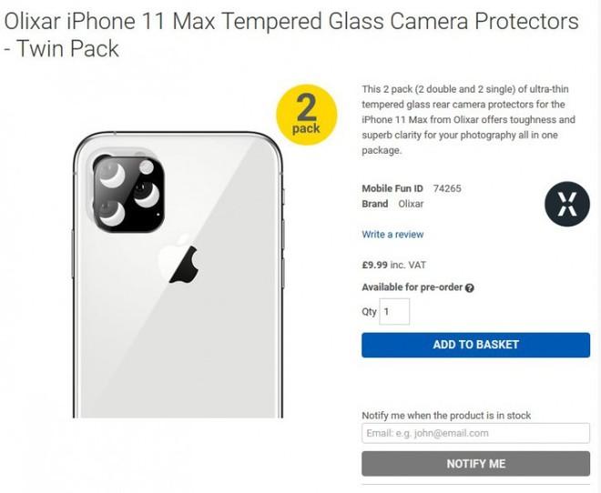 Thiết kế của iPhone 11 với cụm camera sau hình vuông và màn hình tai thỏ vừa được xác nhận - Ảnh 1.