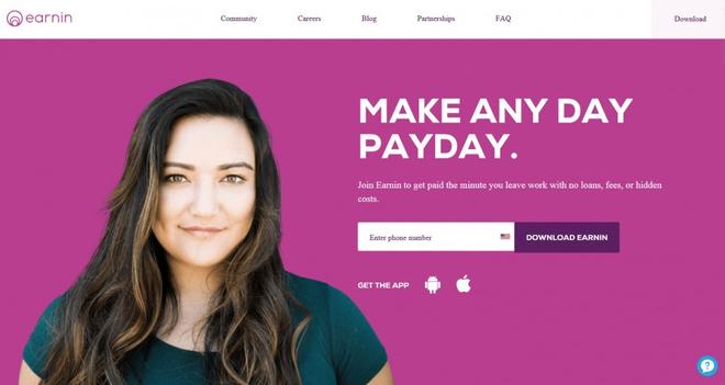 Một startup ở Thung lũng Silicon giúp người lao động nhận được tiền ứng ngay sau ngày làm việc mà không cần chờ tới kỳ lương hằng tháng - Ảnh 1.