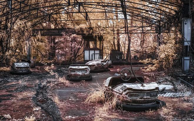 Từ vùng đất ma không ai dám bén mảng, nhà máy điện hạt nhân Chernobyl bỗng hóa xứ sở thần tiên đẹp lịm tim qua lăng kính của nhiếp ảnh gia - Ảnh 29.