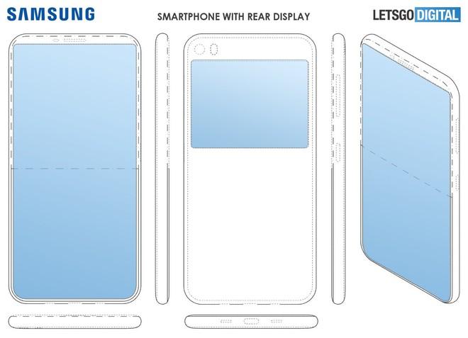 Samsung được cấp bằng sáng chế smartphone 2 màn hình, không có camera trước - Ảnh 1.