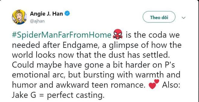 Những bình luận đầu tiên về Far From Home: Xuất sắc hơn cả Spider-Man 2 năm xưa! - Ảnh 3.