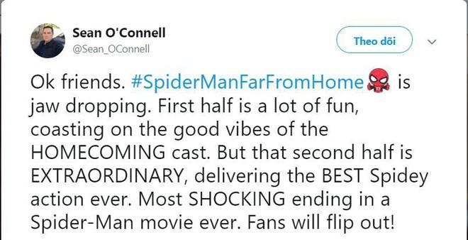 Những bình luận đầu tiên về Far From Home: Xuất sắc hơn cả Spider-Man 2 năm xưa! - Ảnh 6.