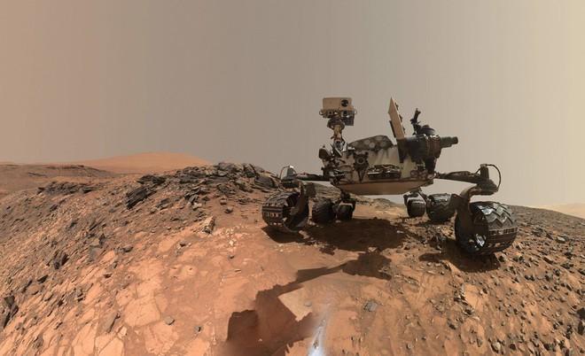 Dấu vết sự sống trên Sao Hỏa: Tàu thăm dò Curiosity vừa phát hiện ra một lượng lớn khí methane - Ảnh 1.