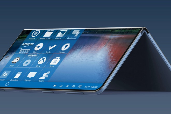 Tin đồn về máy tính Surface màn hình gập, dùng Windows Core OS, chạy được cả ứng dụng Android - Ảnh 1.