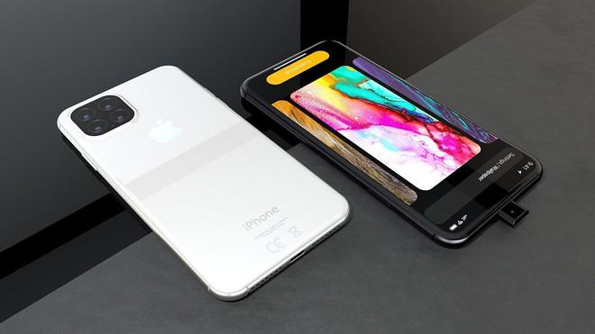 Ngắm concept iPhone 11 Pro đầy hấp dẫn với camera selfie thò thụt độc đáo, 4 camera sau hình vuông - Ảnh 1.