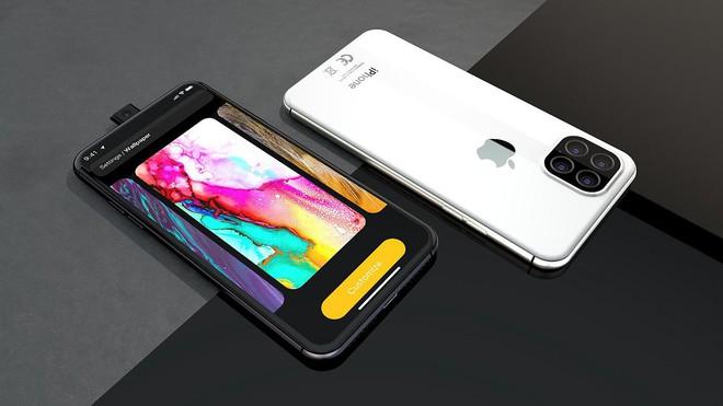 Ngắm concept iPhone 11 Pro đầy hấp dẫn với camera selfie thò thụt độc đáo, 4 camera sau hình vuông - Ảnh 4.