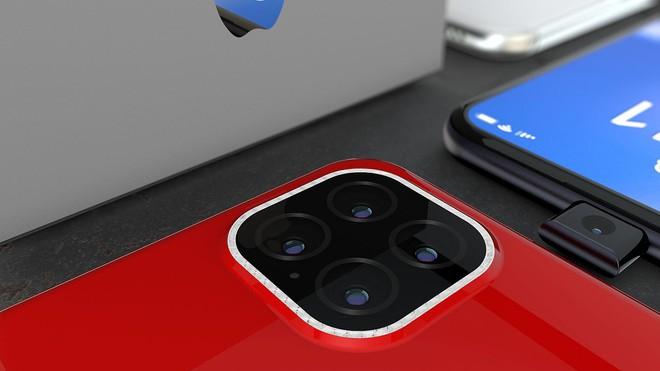 Ngắm concept iPhone 11 Pro đầy hấp dẫn với camera selfie thò thụt độc đáo, 4 camera sau hình vuông - Ảnh 9.