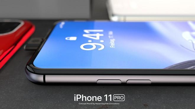 Ngắm concept iPhone 11 Pro đầy hấp dẫn với camera selfie thò thụt độc đáo, 4 camera sau hình vuông - Ảnh 10.