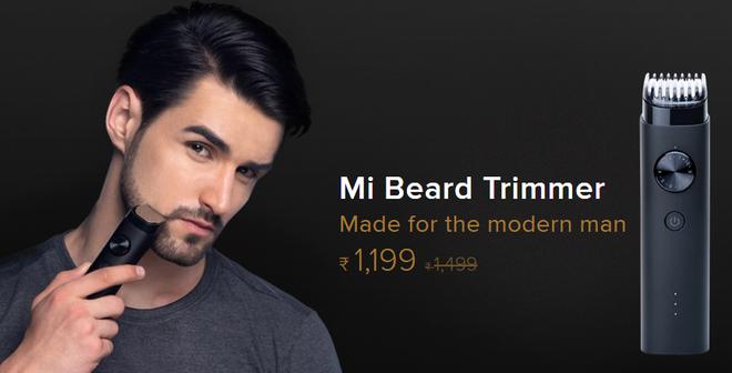Xiaomi ra mắt máy cạo râu Mi Beard Trimmer, dùng 90 phút mỗi lần sạc, chống nước IPX7, giá 395 ngàn đồng - Ảnh 1.