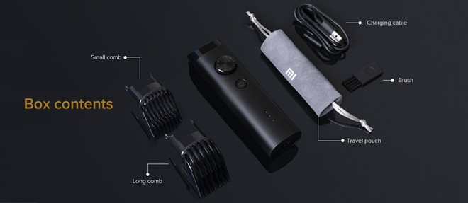 Xiaomi ra mắt máy cạo râu Mi Beard Trimmer, dùng 90 phút mỗi lần sạc, chống nước IPX7, giá 395 ngàn đồng - Ảnh 2.