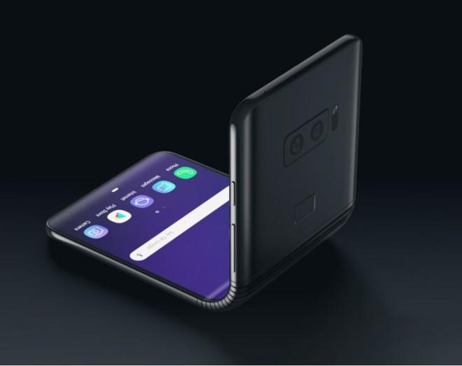 Samsung đang phát triển smartphone màn hình gập kiểu vỏ sò, kích thước 6.7 inch, ra mắt năm 2020 - Ảnh 1.