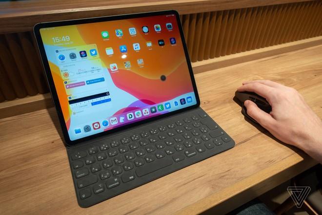 Dùng thử chuột trên iPad Pro cài iPadOS Public Beta: Trải nghiệm khác hoàn toàn chuột máy tính, thao tác điều khiển sơ sài - Ảnh 1.