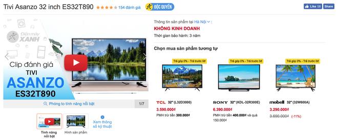 Nhà bán lẻ Việt thu hồi TV Asanzo, hỗ trợ đổi sang TV thương hiệu khác - Ảnh 2.