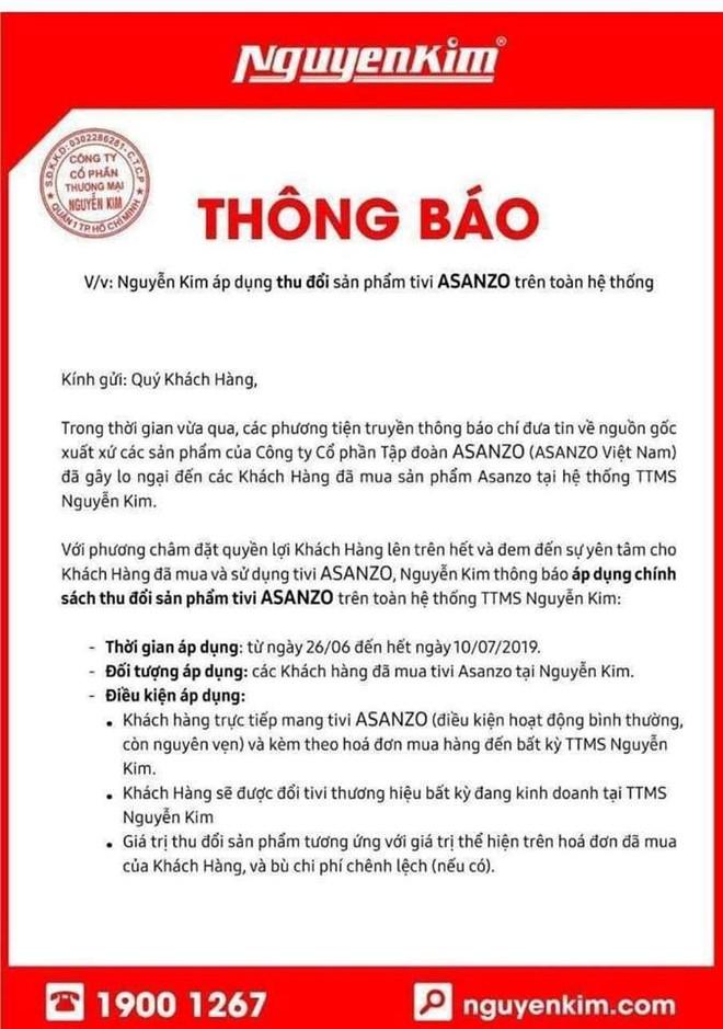Nhà bán lẻ Việt thu hồi TV Asanzo, hỗ trợ đổi sang TV thương hiệu khác - Ảnh 3.