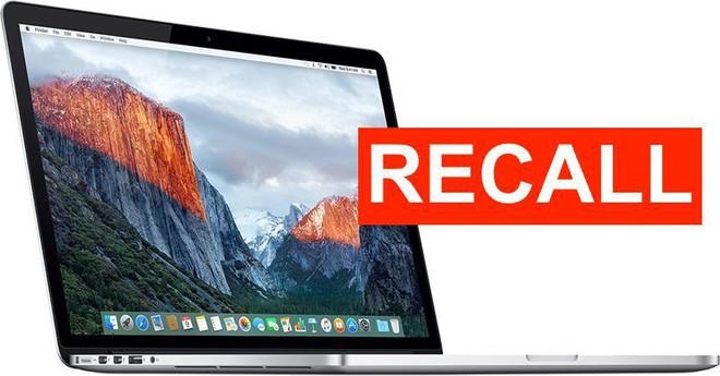 Cơ quan chức năng phát lệnh thu hồi 458.000 MacBook Pro 15 inch đời 2015 tại Mỹ và Canada vì lỗi pin - Ảnh 1.
