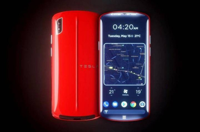 Nếu Tesla gia nhập thị trường smartphone, chiếc điện thoại của hãng trông sẽ như thế nào? - Ảnh 1.