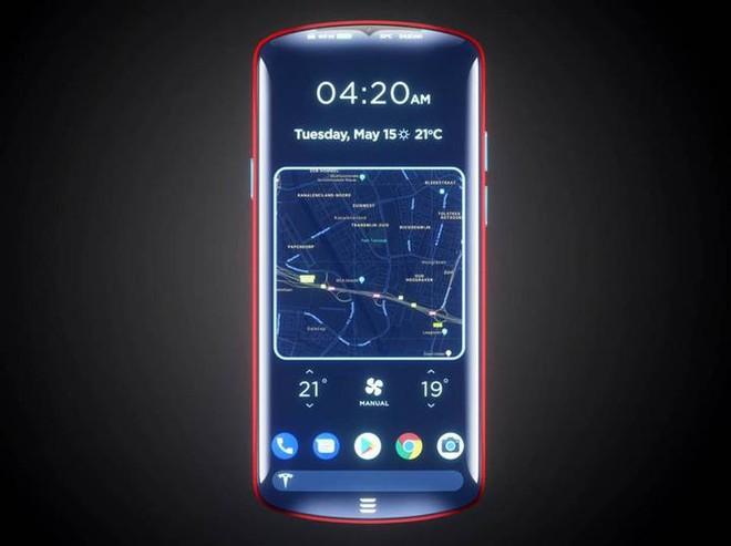 Nếu Tesla gia nhập thị trường smartphone, chiếc điện thoại của hãng trông sẽ như thế nào? - Ảnh 5.
