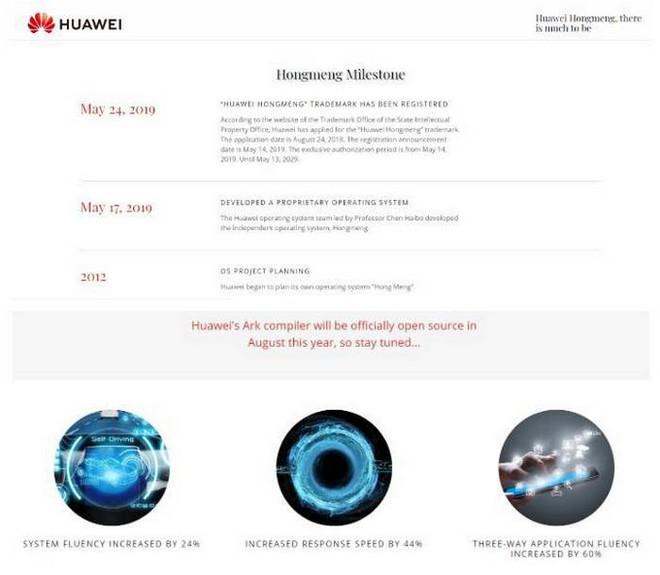 Sếp Huawei: Website về hệ điều hành HongMeng OS là giả mạo - Ảnh 6.