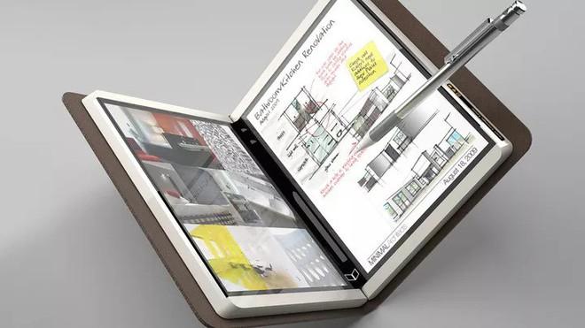 """Microsoft """"nhá hàng"""" một thiết bị Surface bí ẩn có màn hình kép - Ảnh 3."""