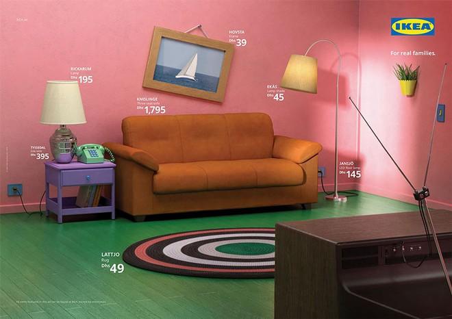 IKEA mang những căn phòng trong The Simpsons, Friends và Stranger Things ra đời thật trong chiến dịch quảng cáo độc đáo - Ảnh 2.