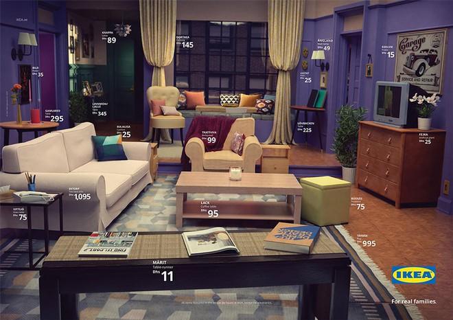 IKEA mang những căn phòng trong The Simpsons, Friends và Stranger Things ra đời thật trong chiến dịch quảng cáo độc đáo - Ảnh 5.