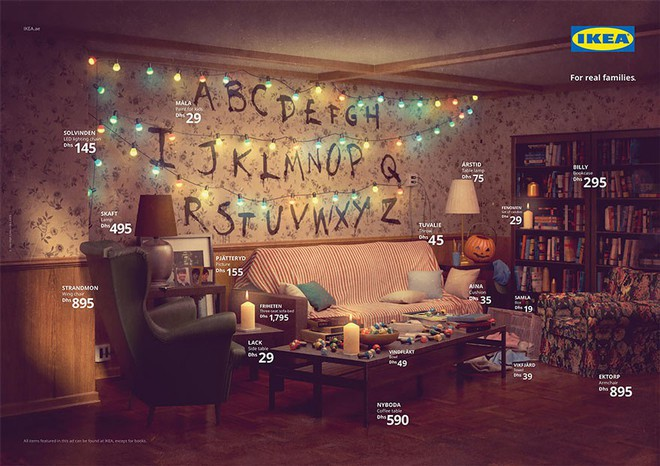 IKEA mang những căn phòng trong The Simpsons, Friends và Stranger Things ra đời thật trong chiến dịch quảng cáo độc đáo - Ảnh 8.