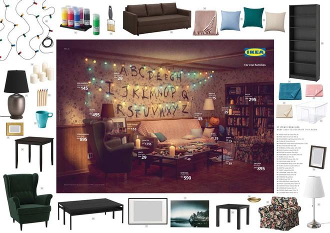 IKEA mang những căn phòng trong The Simpsons, Friends và Stranger Things ra đời thật trong chiến dịch quảng cáo độc đáo - Ảnh 9.
