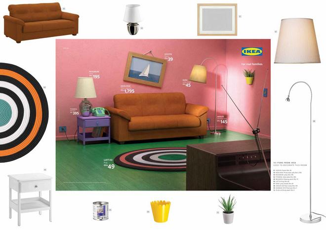 IKEA mang những căn phòng trong The Simpsons, Friends và Stranger Things ra đời thật trong chiến dịch quảng cáo độc đáo - Ảnh 3.
