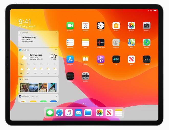 Apple ra mắt iPadOS dành riêng cho iPad: Giao diện màn hình chính mới, hỗ trợ ổ cứng USB, download tập tin bằng Safari, đa nhiệm tốt hơn - Ảnh 2.