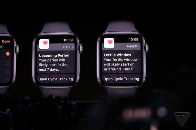 watchOS 6 ra mắt với tính năng theo dõi kinh nguyệt, watchface mới, App Store riêng và một loạt cải tiến về sức khỏe - Ảnh 3.