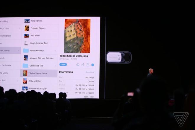 Với iPadOS, từ nay người dùng có thể cắm trực tiếp USB hoặc thẻ nhớ vào iPad - Ảnh 1.