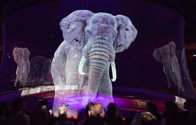 Người Đức rủ nhau đi xem xiếc thú Hologram để phản đối bạo hành động vật - Ảnh 3.
