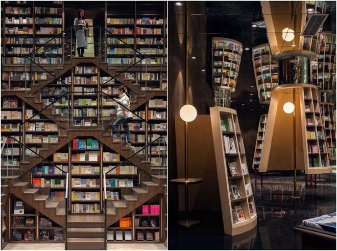 Cách bài trí gây ảo giác của nhà sách Trung Quốc khiến du khách lú lẫn như lạc vào mê cung - Ảnh 9.