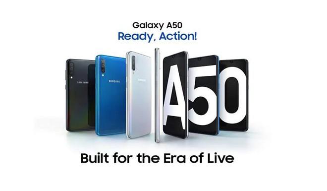 Samsung Galaxy A50 được cập nhật Night Mode và Super Slow-Motion - Ảnh 1.
