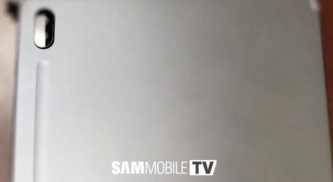 Lộ hình ảnh chiếc tablet flagship tiếp theo của Samsung với bút S Pen sạc không dây - Ảnh 2.