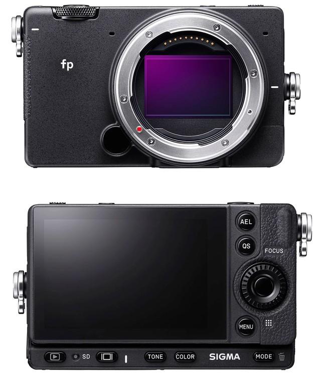 Sigma công bố FP: Máy ảnh Full-frame không gương lật nhỏ nhất Thế giới - Ảnh 2.