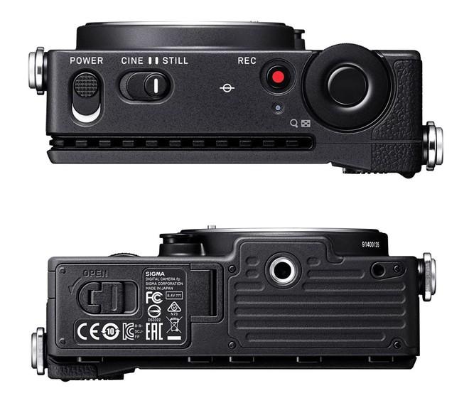 Sigma công bố FP: Máy ảnh Full-frame không gương lật nhỏ nhất Thế giới - Ảnh 3.