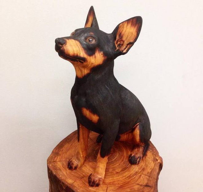 Họa sỹ biến những khúc gỗ vô tri vô giác thành các tác phẩm điêu khắc chân thực đến khó tin - Ảnh 5.