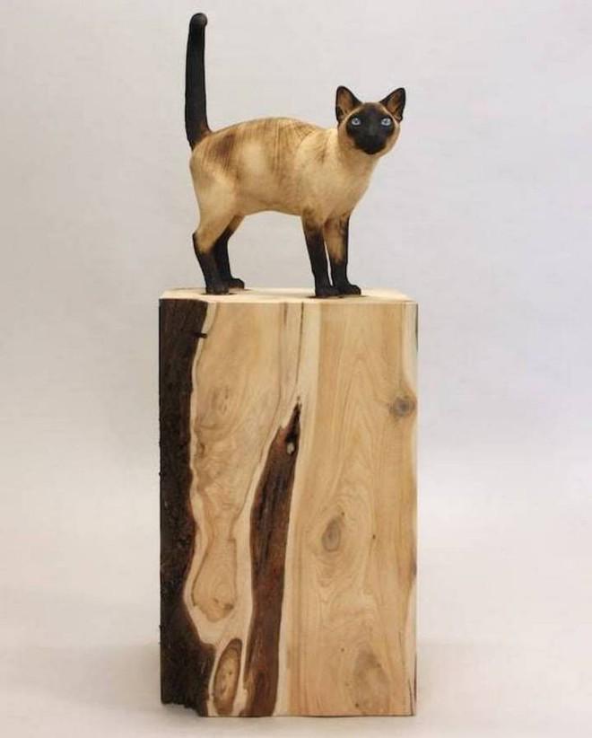 Họa sỹ biến những khúc gỗ vô tri vô giác thành các tác phẩm điêu khắc chân thực đến khó tin - Ảnh 9.