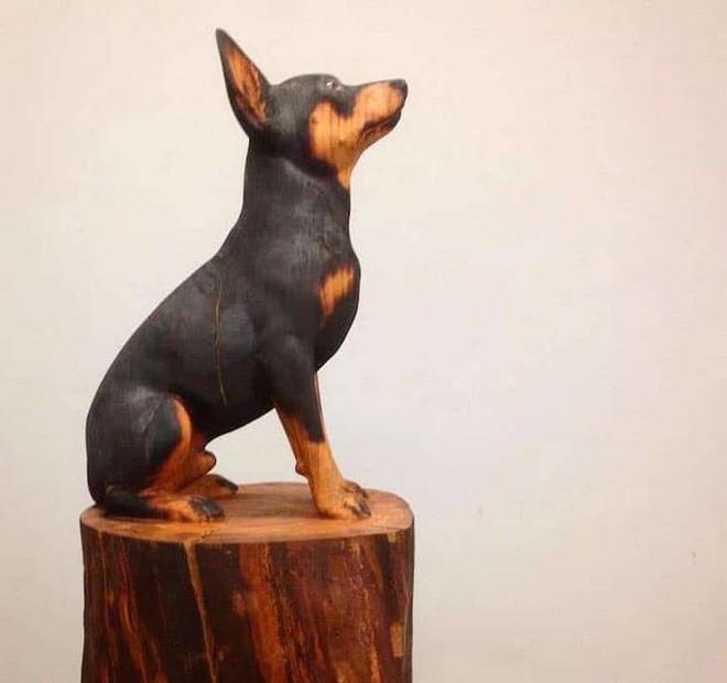 Họa sỹ biến những khúc gỗ vô tri vô giác thành các tác phẩm điêu khắc chân thực đến khó tin - Ảnh 6.