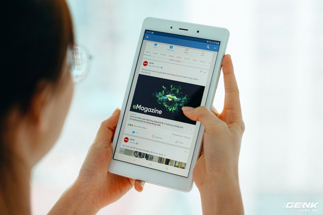 Đánh giá Galaxy Tab A 8.0: Màn hình sáng đẹp, pin tốt, gọi điện nhắn tin được nhưng có đủ để bù lại cho cấu hình? - Ảnh 6.